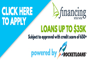 Rocket Loans Up to $35,000...650 Score up!